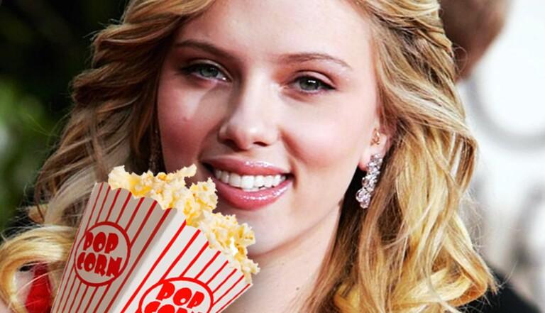 Scarlett Johansson se lance dans le business du pop-corn... à Paris !