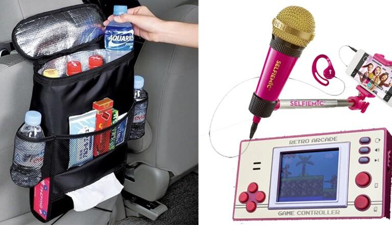 L'improbable shopping : 10 trucs pour ne pas s'ennuyer lors d'un trajet en voiture