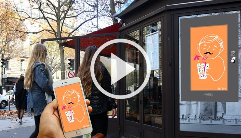 Les gifs quittent internet et envahissent les rues de Paris