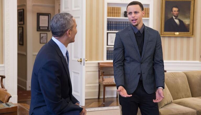 Barack Obama et Stephen Curry s'engagent contre la masculinité toxique