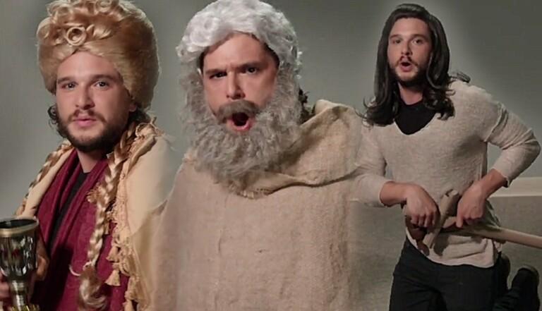 Kit Harington auditionne pour Game of Thrones chez Jimmy Kimmel