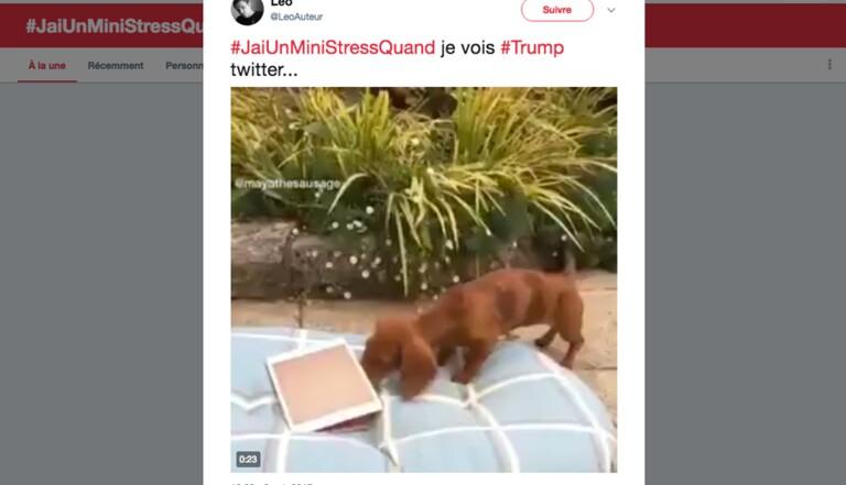#Jaiunministressquand: le hashtag du jour sur Twitter. Et toi, c'est quoi ton mini stress?