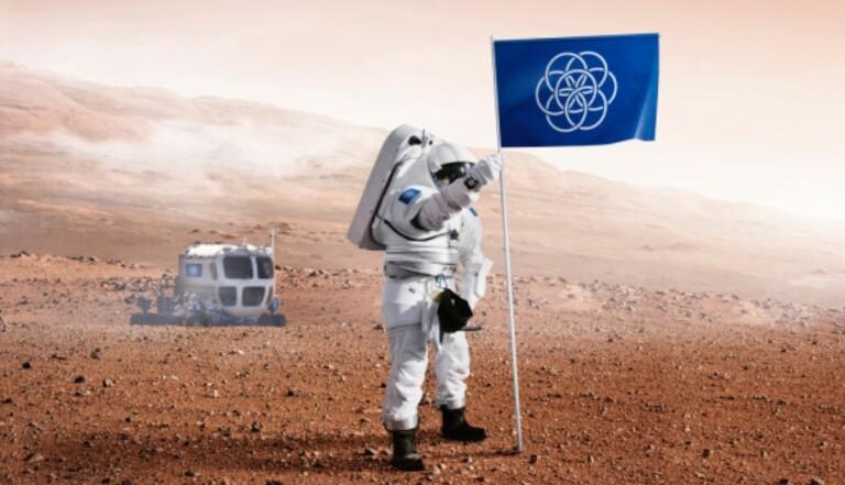 Le drapeau de l'humanité