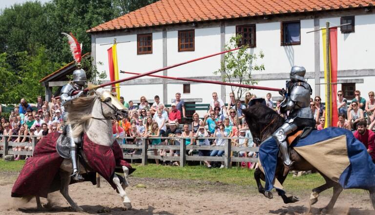 Métier chelou : Jouteuse médiévale