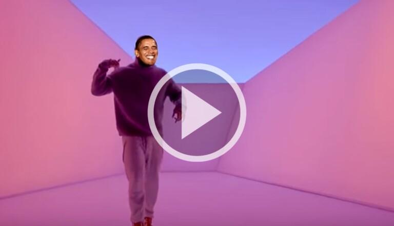 "Le clip du jour : Obama reprend ""Hotline Bling"", le tube de Drake"