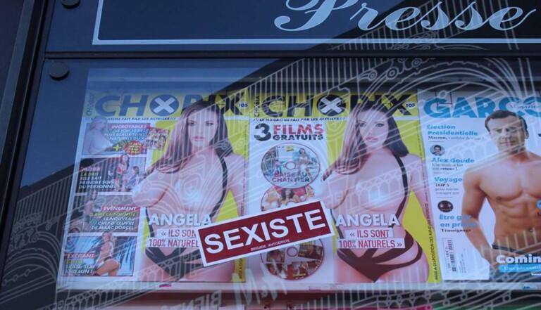 """La Brigade antisexiste se révolte : """"L'image de la femme-objet, c'est la culture du viol"""""""