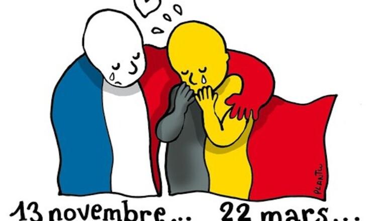 Attentats de Bruxelles : les réactions en dessins