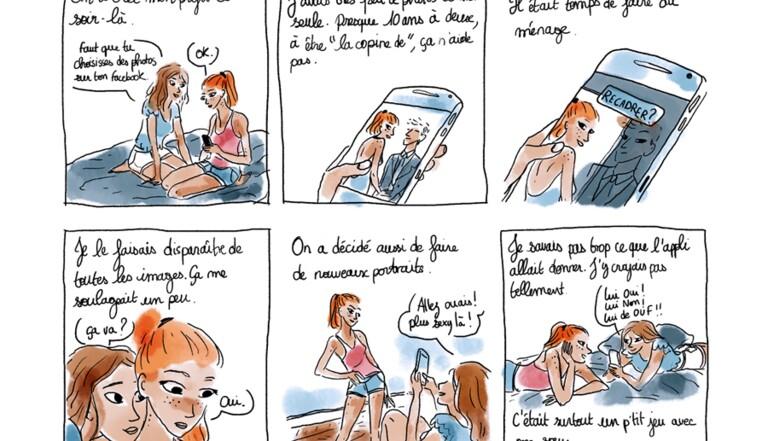 Tinder, par Monsieur Q