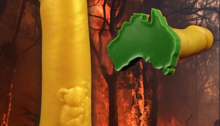Australie : luttez contre les incendies grâce à ce sextoy avec un koala incrusté