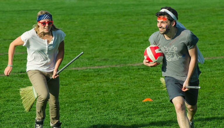 Les Français, champions d'Europe de Quidditch !