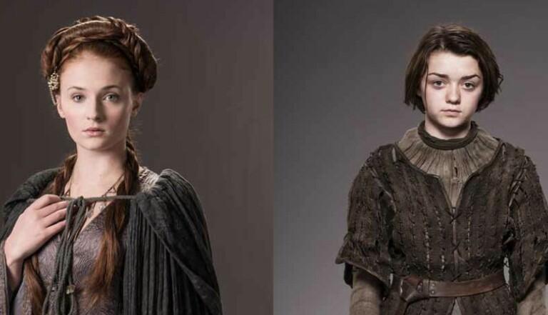 Interview des sœurs Stark de Game of Thrones