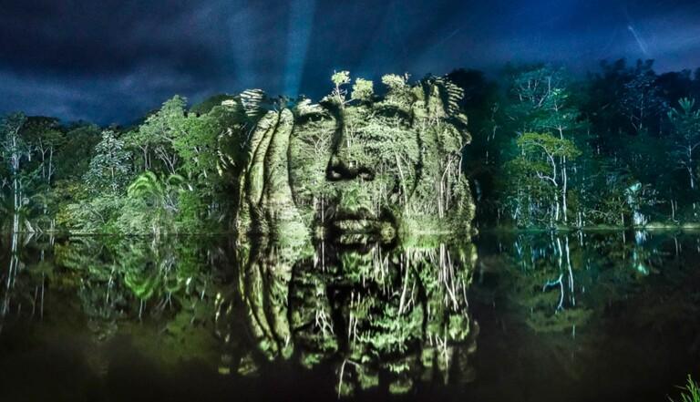 Du street-art en forêt amazonienne pour sauver la tribu des Suruis