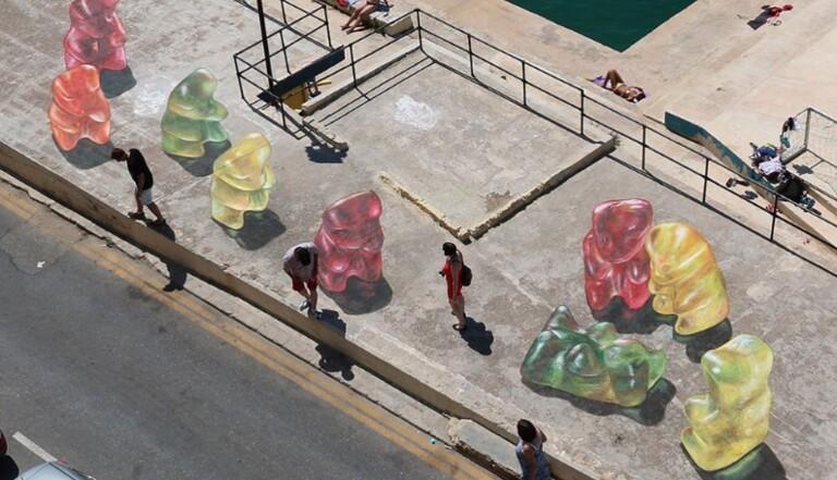 Du street-art acidulé