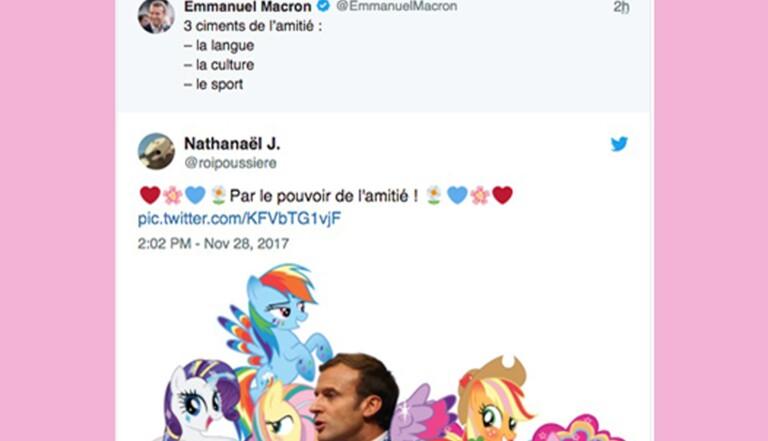 [FAIL] Les meilleures réponses au tweet de Macron sur l'amitié