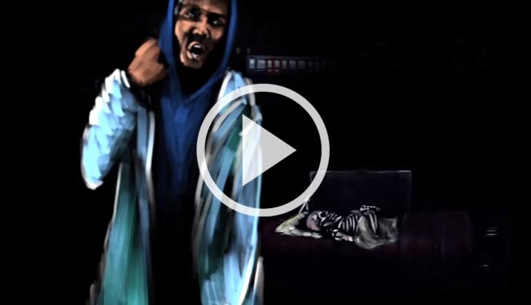 """Le clip (animé) du jour : """"JD"""" d'A$AP Rocky"""
