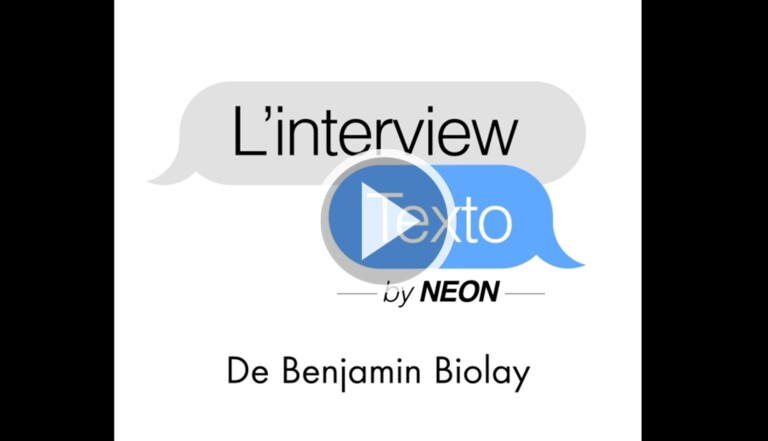 L'Interview Texto de Benjamin Biolay