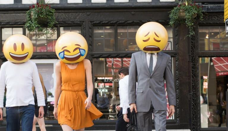 Les emojis dans la vraie vie