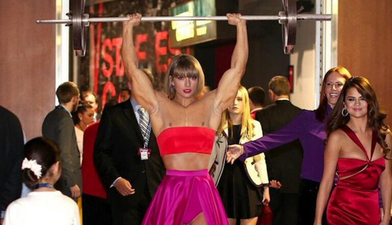 Les internautes s'éclatent à détourner une photo de Taylor Swift