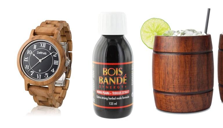 L'improbable shopping bûcheron : 10 trucs en bois qui ne devraient pas l'être