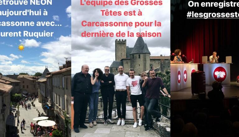 Ceinture de chasteté et cotte de mailles : les coulisses des Grosses Têtes à Carcassonne