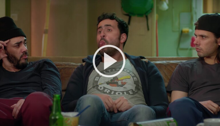 [VIDÉO] Quand Serge Le Mytho tourne un film avec Luc Besson