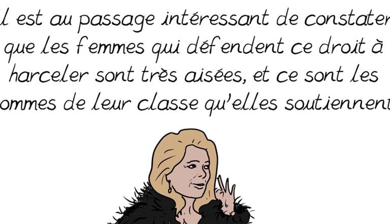 """[BD] La dessinatrice Emma répond à la tribune sur la """"liberté d'importuner"""" signée par Catherine Deneuve (et ça fait mal)"""