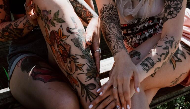 Ephemeral : cette start up lance un tatouage éphémère d'un an