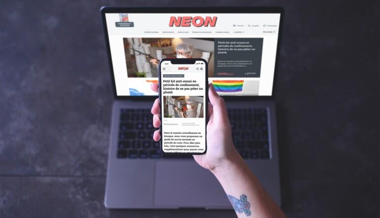NEON lance son nouveau site !