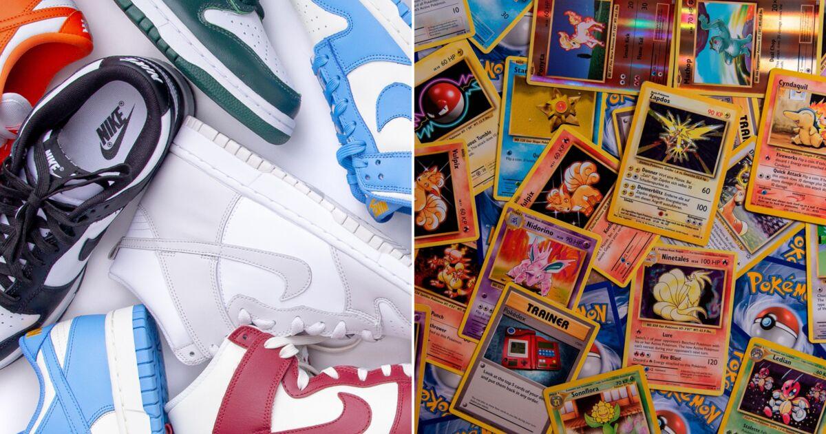 Vente de cartes Pokémon et de sneakers à des prix fous : à qui profite ces nouveaux business ?