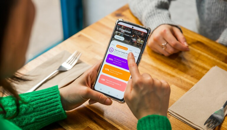 Giveats, l'appli qui permet de commander des repas et d'en offrir aux personnes dans le besoin