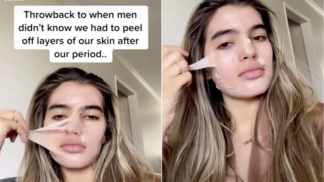 Tiktok: quand une vidéo virale fait croire que la peau des femmes se décolle après leurs règles