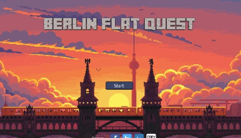 """""""Berlin Flat Quest"""": le jeu qui parle des péripéties pour réussir à trouver un appartement"""